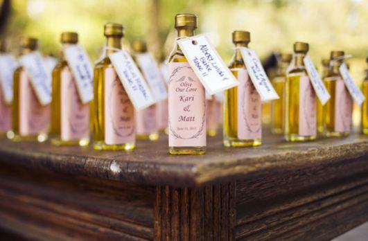 cadeaux mariage huile dolive - Mignonette Mariage