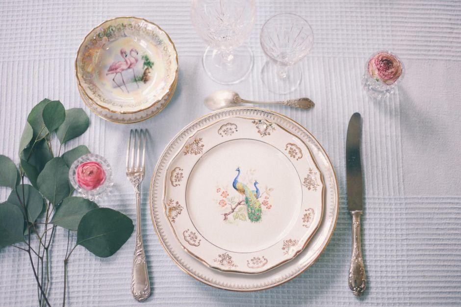 Les dinettes chinées - Déco Mariage (1)
